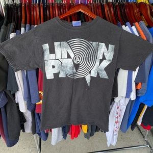 Linkin park hanes band tee small